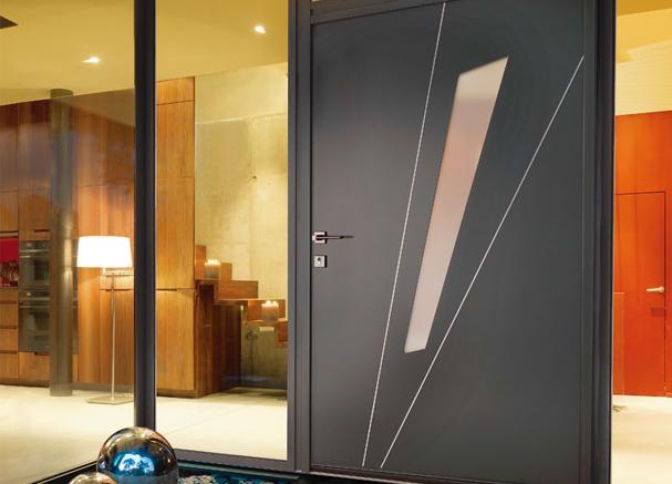 Fabien fen tres installation de portes et portes d 39 entr e en gironde 33 for Porte couleur taupe
