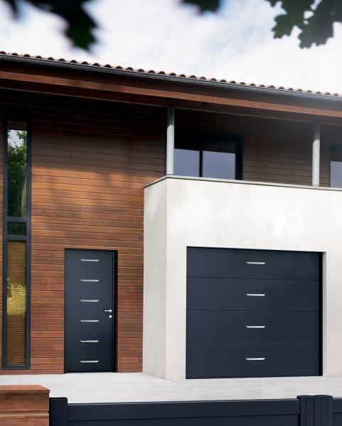 Fabien fen tres installation de portes de garage en - La toulousaine porte de garage sectionnelle ...